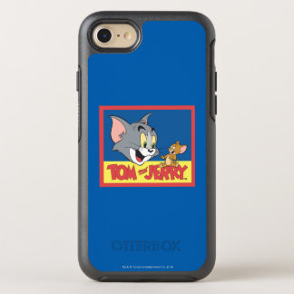 Tom And Jerry Logo Flat OtterBox Symmetry iPhone 8/7 Case