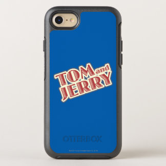 Tom and Jerry Logo OtterBox Symmetry iPhone 8/7 Case