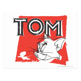 Tom and Jerry Mad Cat Postcard