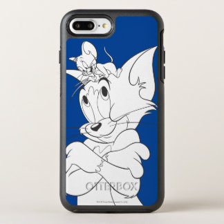 Tom and Jerry On Head OtterBox Symmetry iPhone 8 Plus/7 Plus Case
