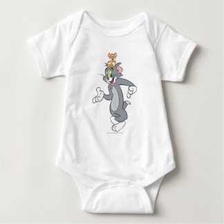 Tom and Jerry Pair Baby Bodysuit