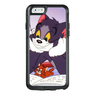 Tom And Jerry Reading Book Autographed OtterBox iPhone 6/6s Case