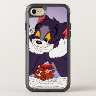 Tom And Jerry Reading Book Autographed OtterBox Symmetry iPhone 8/7 Case