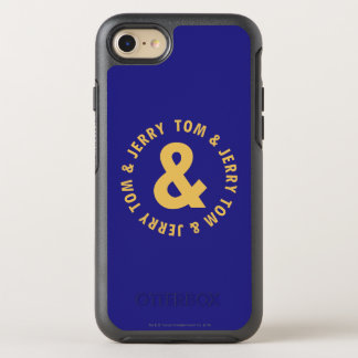 Tom and Jerry Round Logo 4 OtterBox Symmetry iPhone 8/7 Case