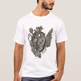 Tom and Jerry Skull T-Shirt