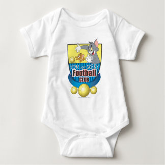 Tom and Jerry Soccer (Football) 5 Baby Bodysuit