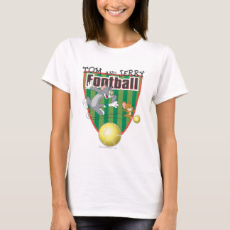 Tom and Jerry Soccer (Football) 6 T-Shirt