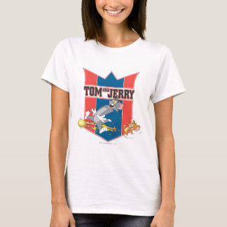 Tom and Jerry Soccer (Football) 7 T-Shirt