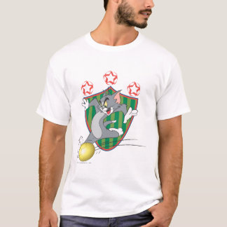Tom and Jerry Soccer (Football) 9 T-Shirt