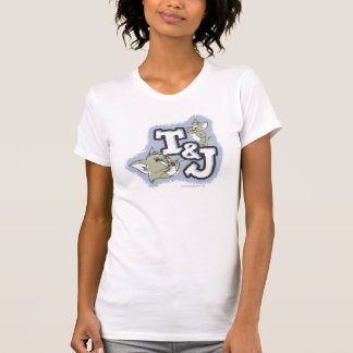 Tom and Jerry T&J Logo T-Shirt