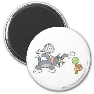 Tom and Jerry Tennis Stars 2 Magnet