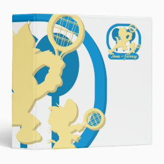 Tom and Jerry Tennis Stars 3 Vinyl Binder