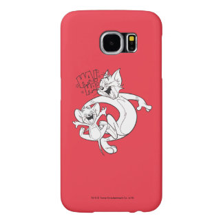 Tom And Jerry | Tom And Jerry Laughing Samsung Galaxy S6 Cases