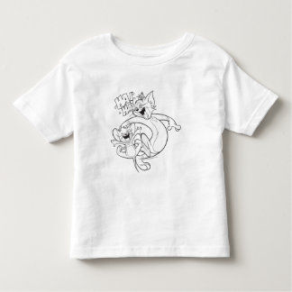 Tom And Jerry | Tom And Jerry Laughing Toddler T-shirt