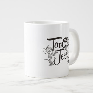 Tom And Jerry | Tom And Jerry Looking Sweet Giant Coffee Mug