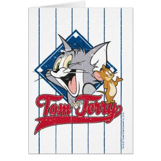 Tom And Jerry   Tom And Jerry On Baseball Diamond Card