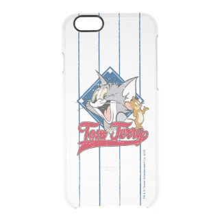 Tom And Jerry | Tom And Jerry On Baseball Diamond Clear iPhone 6/6S Case