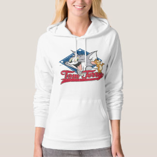 Tom And Jerry | Tom And Jerry On Baseball Diamond Hoodie