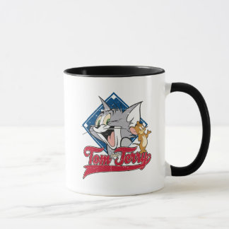 Tom And Jerry | Tom And Jerry On Baseball Diamond Mug