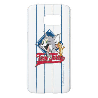 Tom And Jerry | Tom And Jerry On Baseball Diamond Samsung Galaxy S7 Case