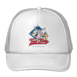Tom And Jerry | Tom And Jerry On Baseball Diamond Trucker Hat