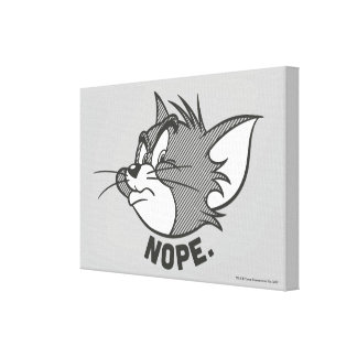 Tom And Jerry | Tom Says Nope Canvas Print