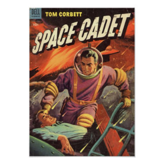 Tom Corbett Space Cadet Poster
