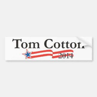 Tom Cotton for Senate 2014 Bumper Sticker