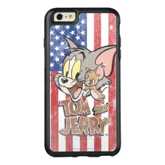 Tom & Jerry With US Flag OtterBox iPhone 6/6s Plus Case