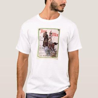 Tom Mix 1927 silent movie exhibitor ad T-Shirt