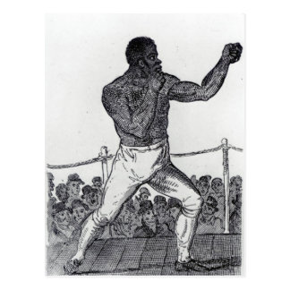 Tom Molineux, 1812 Postcard