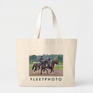 Tom Morely Workouts at Saratoga Tote Bags
