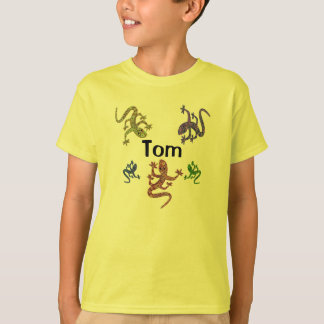 Tom Salamander T-Shirt - 2 Sided Design