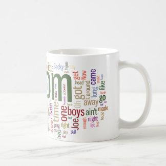 Tom Sawyer Word Cloud Coffee Mug