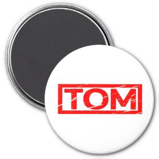 Tom Stamp 3 Inch Round Magnet