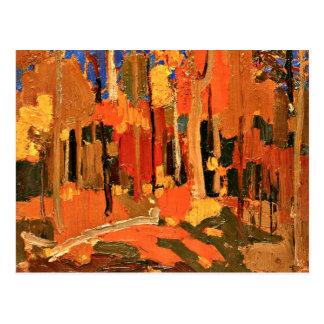 Tom Thomson - Autumn Color Postcard