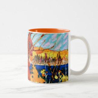 Tom Thomson - Autumn Foliage Two-Tone Coffee Mug