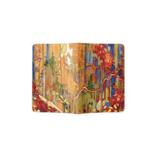 Tom Thomson - Autumn's Garland Passport Holder