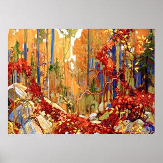 Tom Thomson - Autumn's Garland Poster