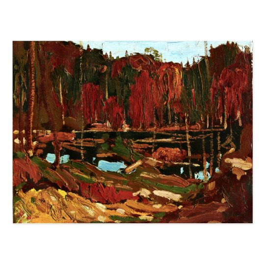 Tom Thomson - Backwater Postcard