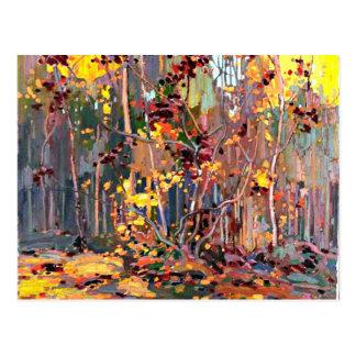 Tom Thomson - Maple Saplings Postcard