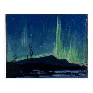 Tom Thomson - Northern Lights Postcard