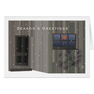 Tom Thomson Shack Christmas Card