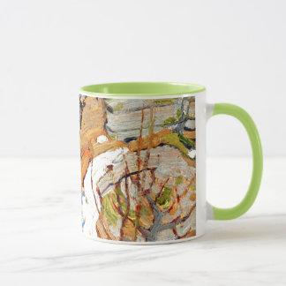 Tom Thomson - Snow and Rocks Mug