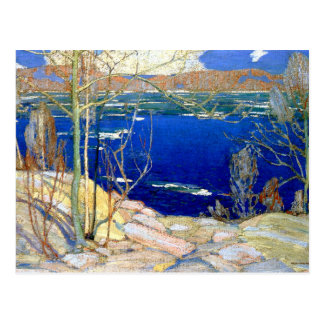 Tom Thomson - Spring Ice Postcard