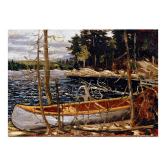 Tom Thomson - The Canoe Poster