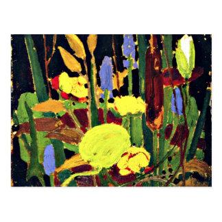 Tom Thomson - Water Flowers - 1915 Postcard