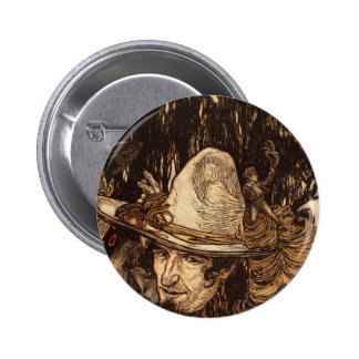 Tom Thumb 2 Inch Round Button