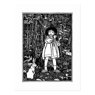 Tom, Tom, The Piper's Son Nursery Rhyme Postcard