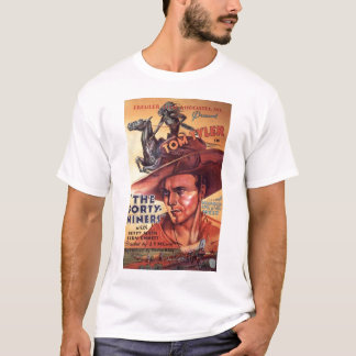 Tom Tyler 1932 vintage movie poster T-shirt
